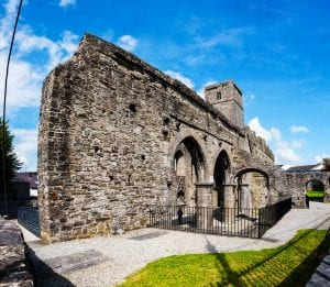 sligo abbey near clayton hotel sligo