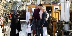 dunbrody famine ship experience near clayton hotels.