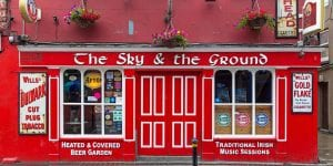 the sky and the ground bar near clayton wexford