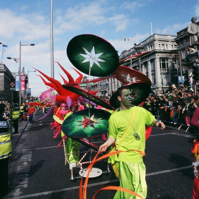 St Patricks Day Parade OConnell Street Dublin