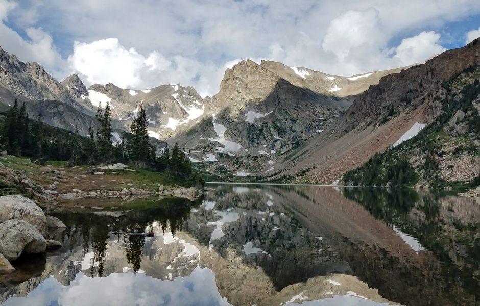 Mountains in Denver Colorado